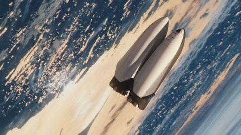 Rymdskepp i omloppsbana
