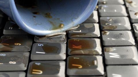 kaffe tangentbord