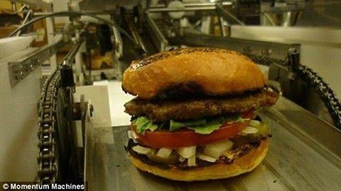 Hamburger-robot, Momentum Machines