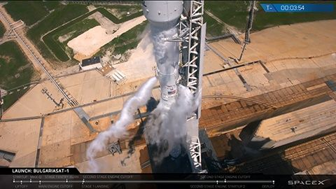 Space X BulgariaSat1