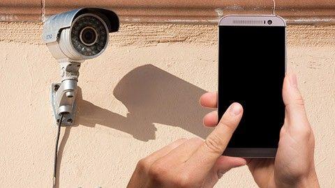 Övervaka hemmet – med en vanlig mobil