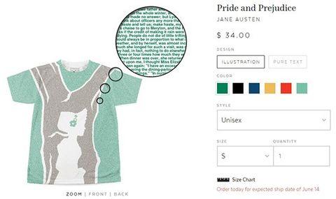 Shoppingtipset: Gör en t-shirt – med din favoritbok