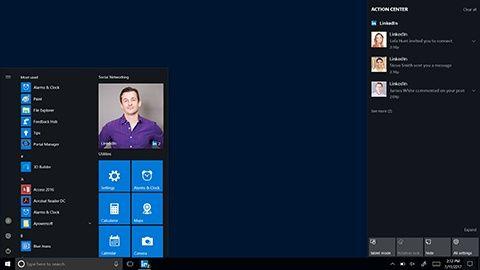 Linkedin på Windows 10