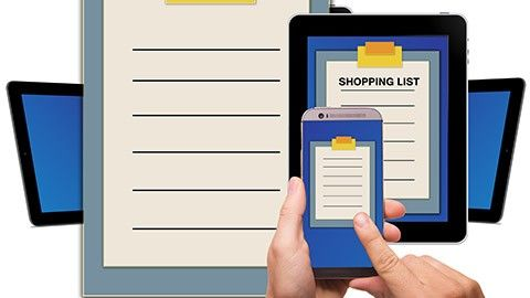 Smart shoppinglista hjälper dig minnas