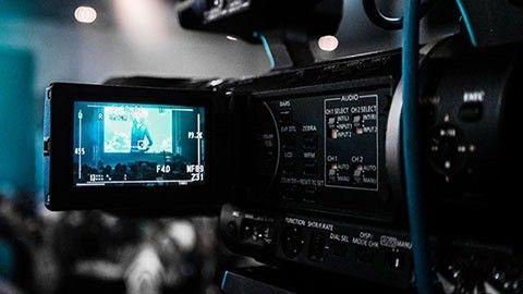 Kamera för tv-produktion