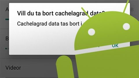 Android lagring