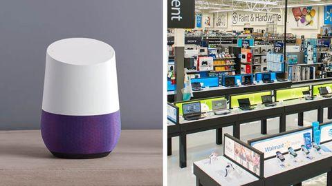 Google Home, Walmart-butik