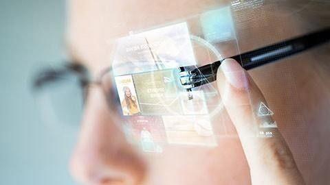 Augmented reality-glasögon