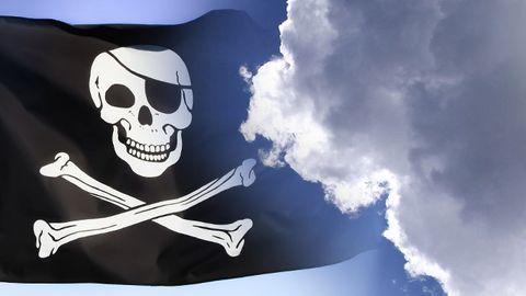 Jolly Roger i molnet