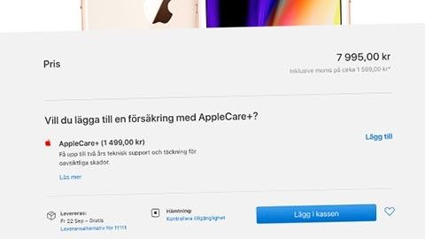 Beställ Iphone 8