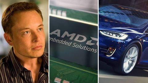 Elon Musk, AMD, Tesla