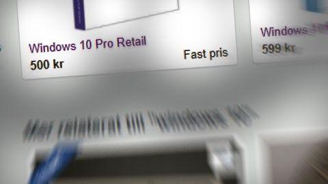 Windows 10 licens