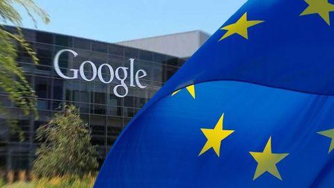 Google, EU-flagga