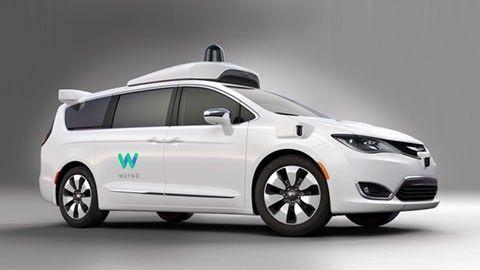 Waymo självkörande bil