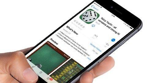 Tärningsspel på App Store