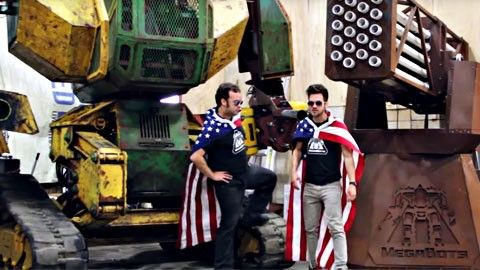 Megabots Usa vs Japan 2017