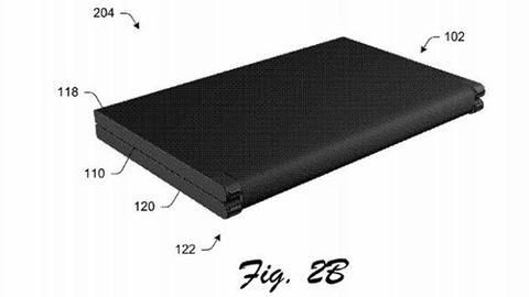 Möjligt Microsoft Courier-patent