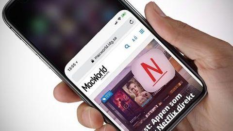 Reachability på Iphone X