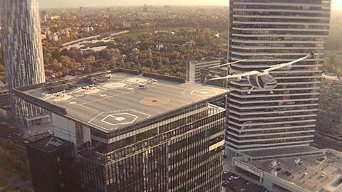 Uber och Nasa ska bygga flygande taxibilar