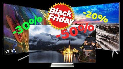 Black Friday 2017: Bästa deals på tv