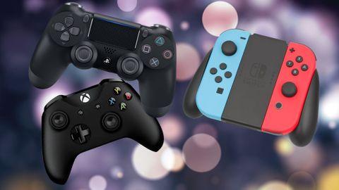 Spelkonsoler och tillbehör