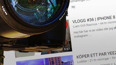 Vlogg-kamera