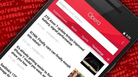 Opera för Android