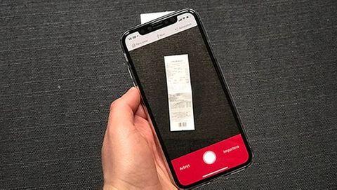 Skanna och faxa med din Iphone