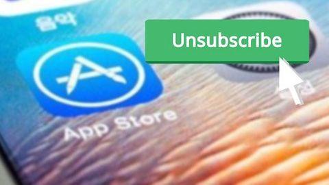 Hantera App Store-prenumerationer på Iphone