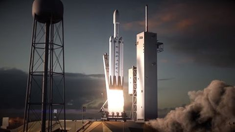 Falcon Heavy Spacex