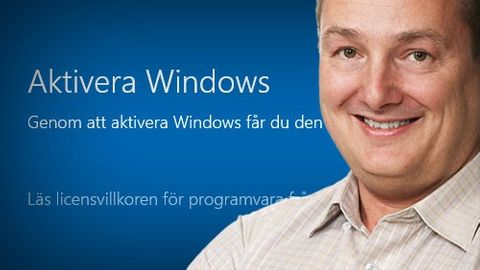 Microsoft Windows 10 aktivering