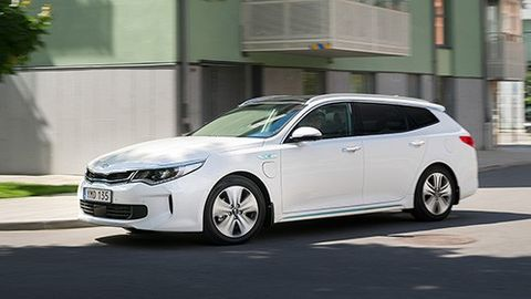 Test Kia Optima Sportswagon Plug-in hybrid