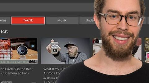 Nya Youtube-appen på Apple TV