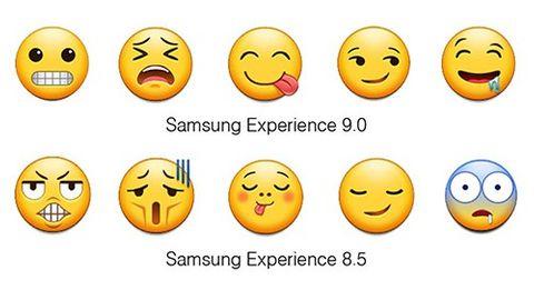 Samsung nya emojis