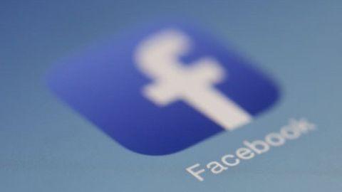 Facebook-ikon inzoomad