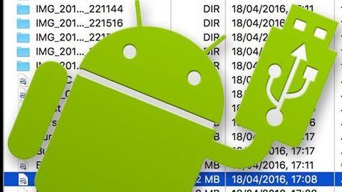 Filöverföringar mellan Mac och Android