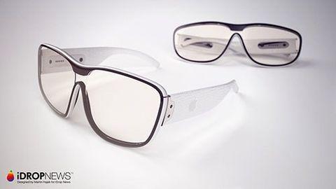 Idropnews Apple-glasögonkoncept