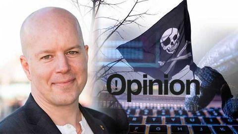 Magnus Andersson, partiledare Piratpartiet
