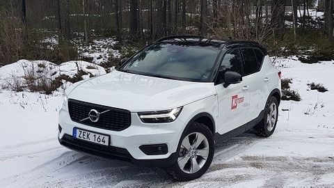 XC40 D4 AWD R-Design Intro