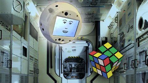Cimon på ISS
