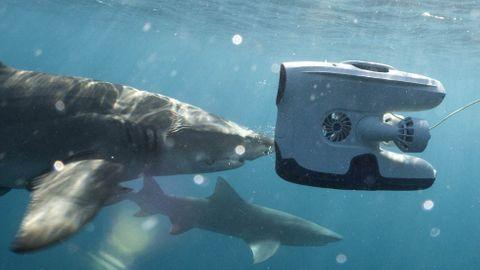 Undervattensdrönaren Blueye