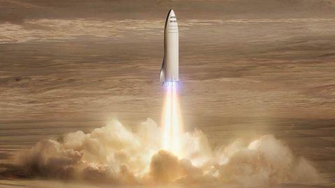 Mars-landning