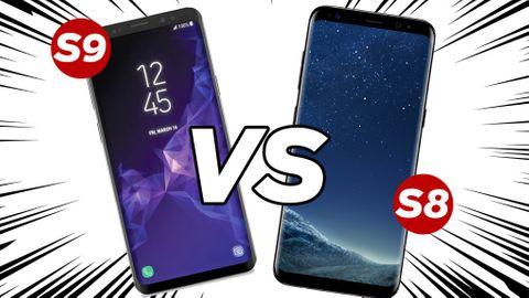 Galaxy S8 och S9