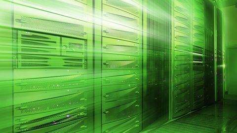 grönt datacenter