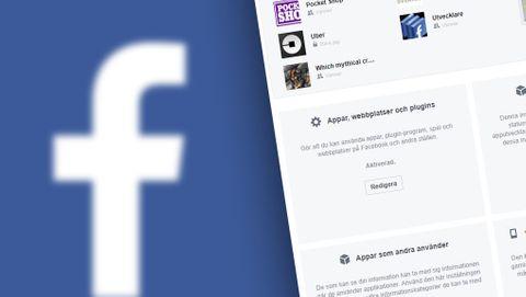Facebook appar