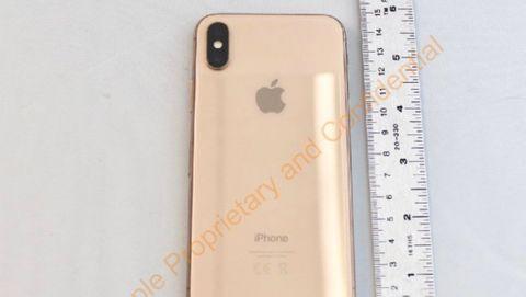 Iphone X i guld