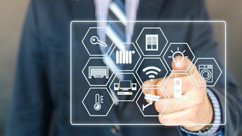 Virtuell styrpanel för smarta hemmet