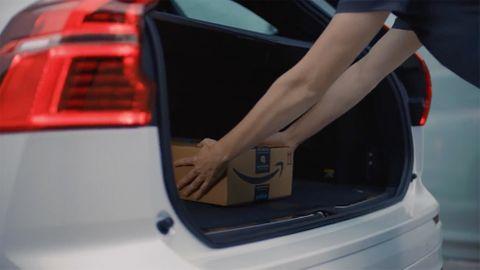 Amazon levererar till bilar
