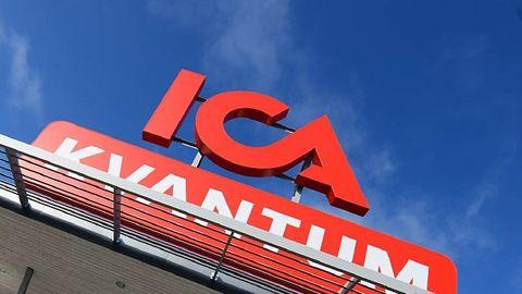 ICA-skylt