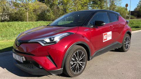 Toyota C-HR 2018 test